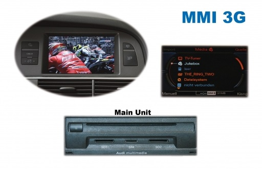 Video in Motion Audi MMI 3G