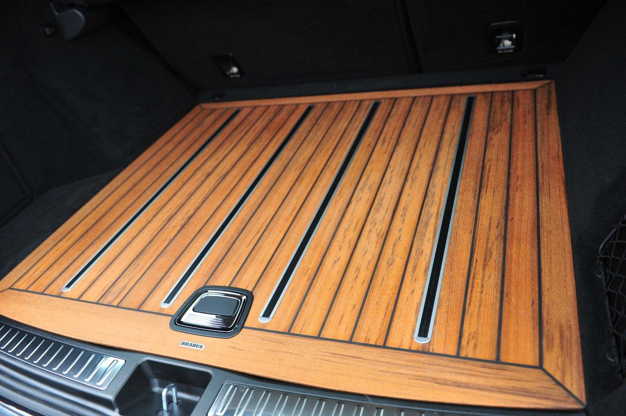 ML W166 Teak Ship Deck