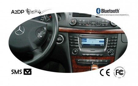Bluetooth hf-sarja Mercedes